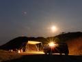 大浜海水浴キャンプ3夜景