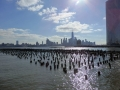 A view of Manhattan from Hoboken, NJ.