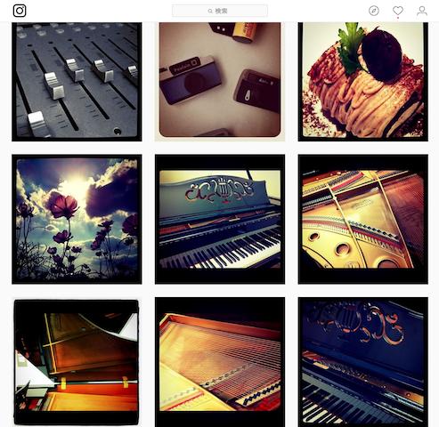 instagramの投稿もついに