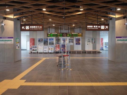 JR木古内駅03