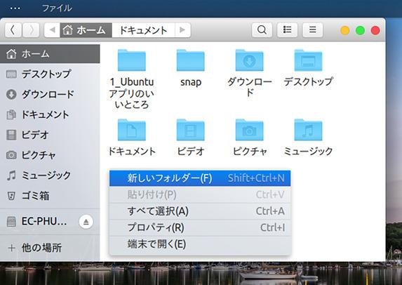 Ubuntu 18.04 Gnome-OSC テーマ