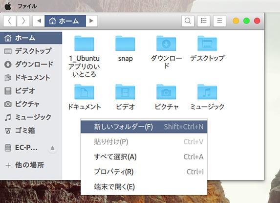 Ubuntu 18.04 Gnome-Xpro テーマ