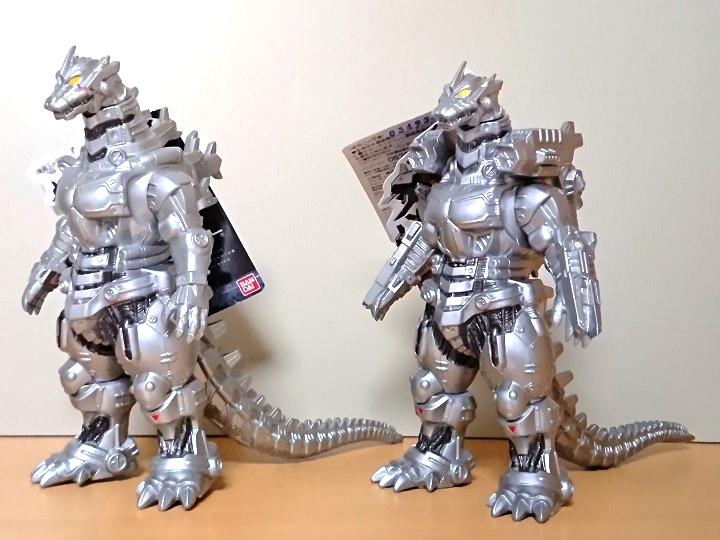 ムービーモンスターシリーズ メカゴジラ(重武装型)5