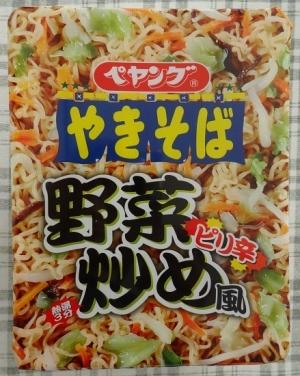 ペヤング ピリ辛野菜炒め風やきそば 189円