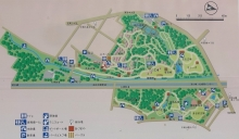 平岡公園総合案内板