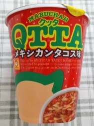 MARUCHAN QTTA メキシカンタコス味 124円