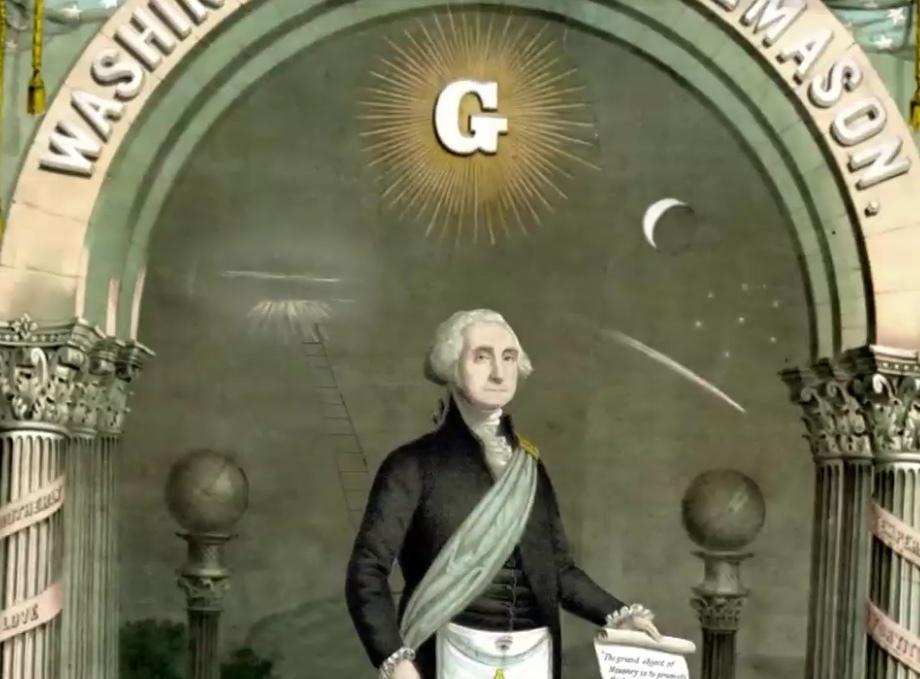 ジョージ・ワシントンの肖像画に見える、潜在意識、パラレルワールド