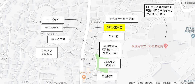地図2(旧上町4丁目バス停)