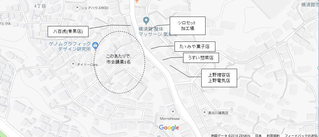 地図3(旧豊之坪バス停)