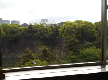 東京国立近代美術館の眺めのいい部屋