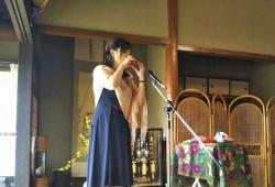 岸田道子さんのオカリナ・ライブ20180414-2b