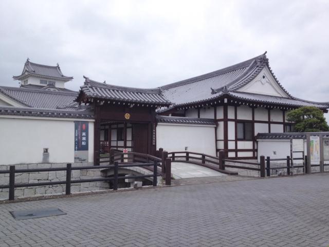 関宿城博物館。