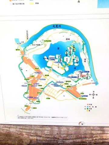 江戸後期の岩槻城範囲