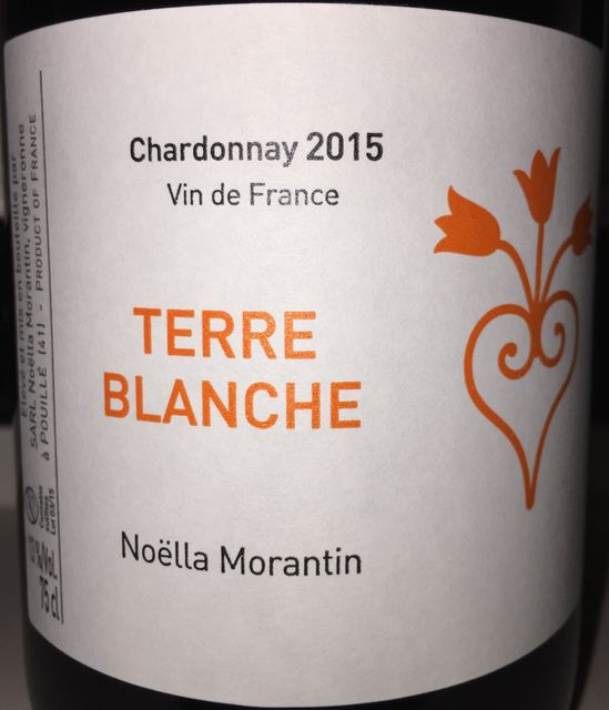 Terre Blanche Chardonnay Noella Morantin 2015
