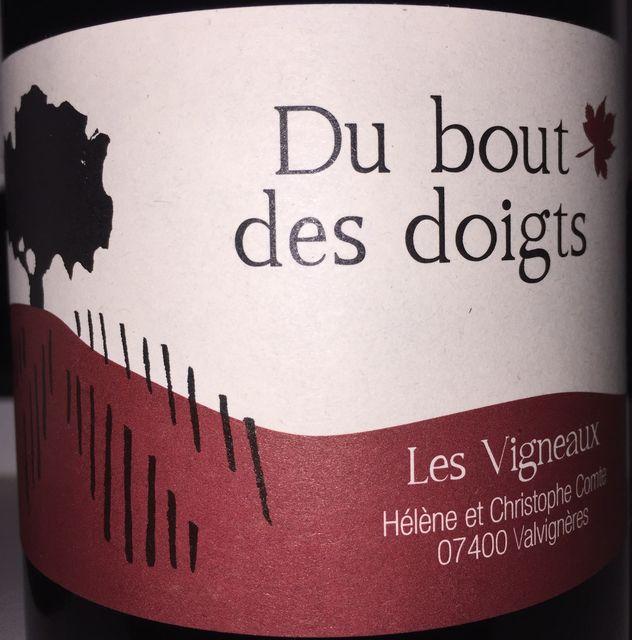 Du Bout Des Doigts Pinot Noir Les Vigneaux 2016 part1