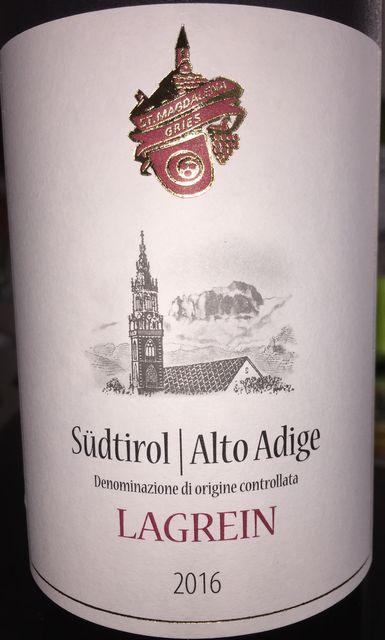 Lagrein Sudtiro Alto Adige Cantina Produttori Bolzano 2016 part1