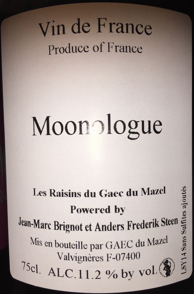 Moonologue Jean Mard Brignot et Anders Frederik Steen part1