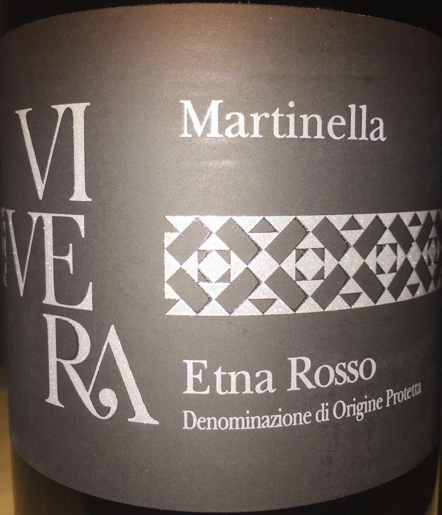 Vivera Martinella Etona Rosso Nerello Mascalese Nerello Cappuccio 2012 part1