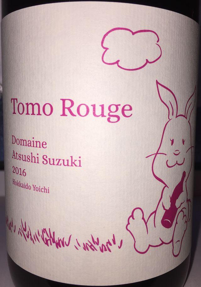 Tomo Rouge Domaine Atsushi Suzuki 2016 part1