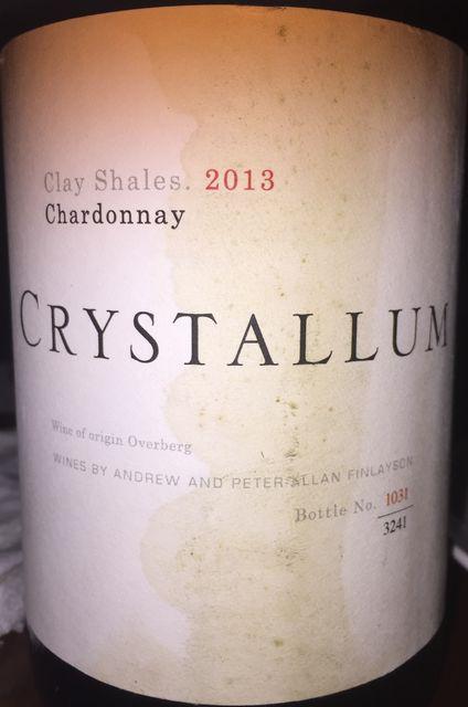 Crystallum Chardonnay Clay Shales 2013