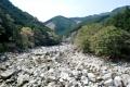 魚跳渓 銚子川