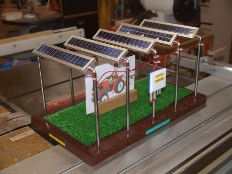 P3300059 ソーラーシェアリング模型