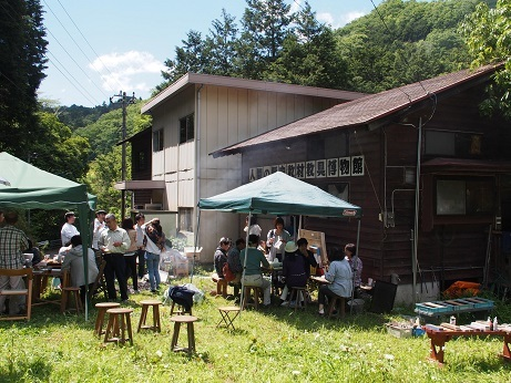 P5040221 昼食風景