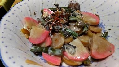 山菜マヨ和え