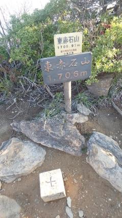 赤石山系縦走 030