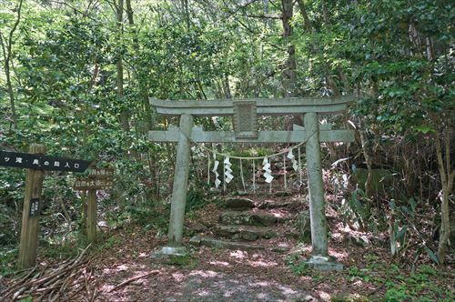 7花園神社奥の院