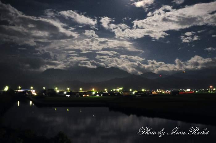 禎瑞の夜景 愛媛県西条市禎瑞下