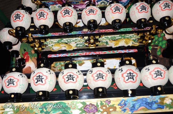 楢の木屋台(楢之木だんじり) 西条祭り 石岡神社祭礼