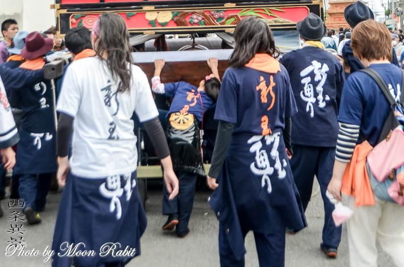 新玉通だんじり(屋台) 祭り装束