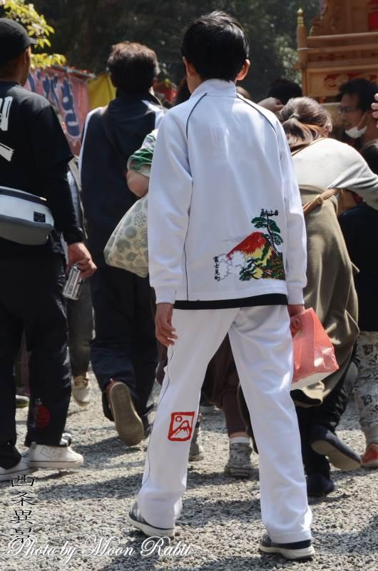 富士見町屋台(だんじり) 祭り装束