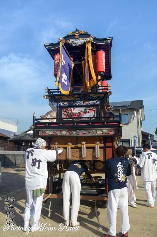 下町だんじり(屋台) 恵美洲神社春祭り(丹原春祭り)