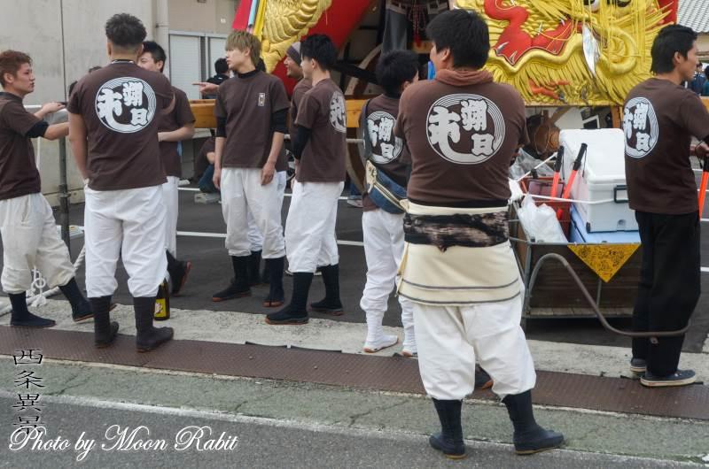 朔日市御輿(みこし) 祭り装束