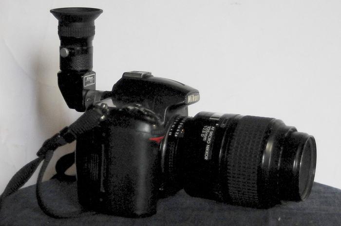 Nikon DR-3 アングルファインダー