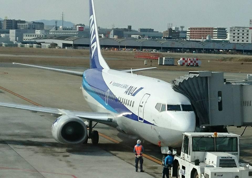 【福岡空港から東京羽田空港経由で新潟へ】-3