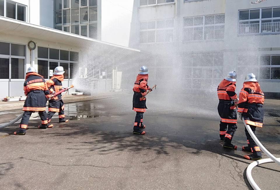 【消防新入退団式 2018年】-4