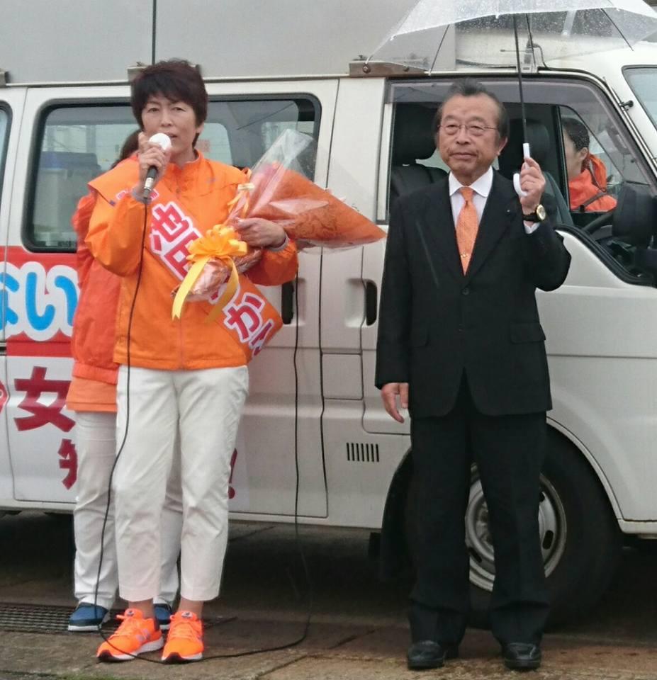 【池田ちかこ候補上越街宣20180530】-1