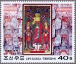 北朝鮮・梁泉寺(三尊)