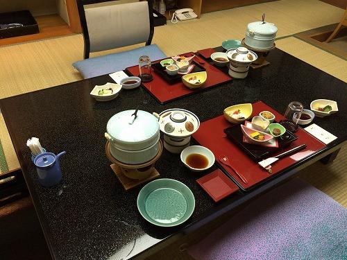 堂ヶ島 ニュー銀水(食事)