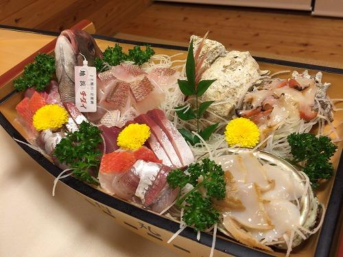 海鮮の宿 舟付(食事)