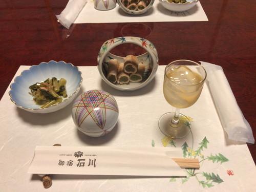御宿 石川(食事と感想)