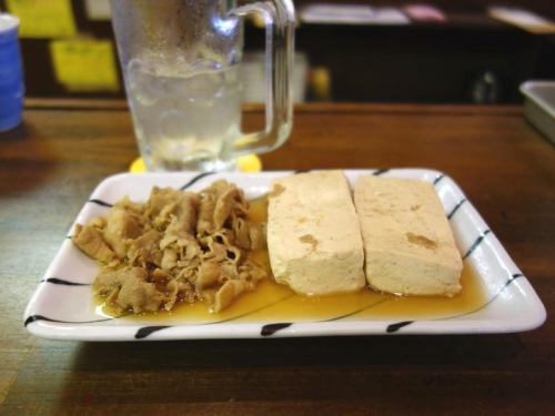 レモンハイ&肉豆腐