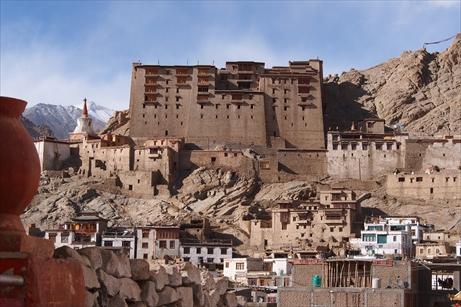 Leh city leh palace_R