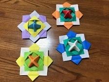 折り紙の独楽
